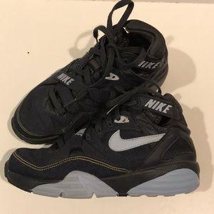 👟NIKE AIR denim high top sneakers